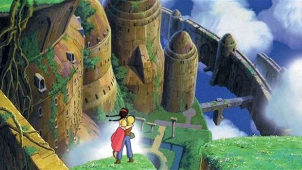 Laputa: Castle In The Sky (Credit: Studio Ghibli)
