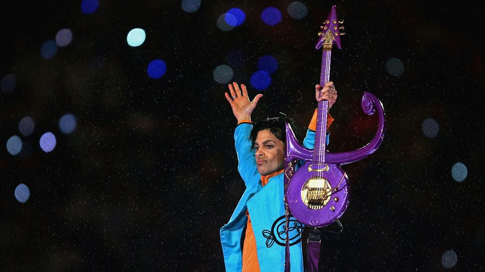 Prince at the Super Bowl Halftime show 2007