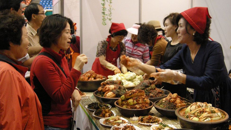 Gwangju produces some of the country's finest kimchi, which is celebrated at the city's annual kimchi festival (Credit: Park Chan-Kyong/Getty Images)