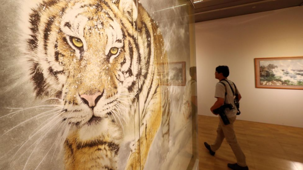 The Gwangju Biennale, held at the Asia Culture Center, is a celebration of contemporary art (Credit: Newscom/Alamy)