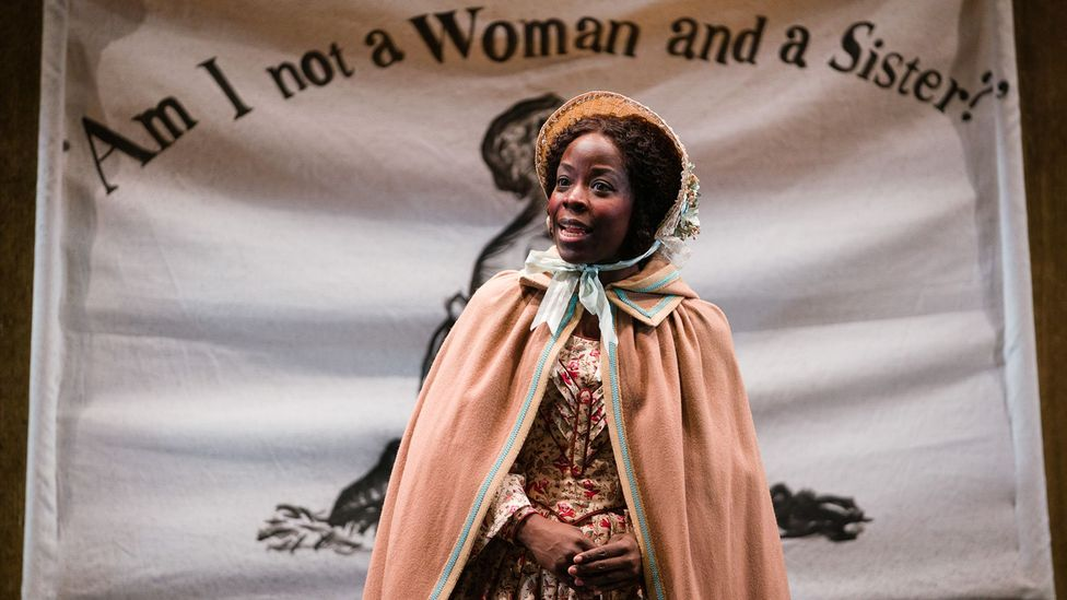 It includes characters based on Mary Wollstonecraft and Mary Prince, a former slave who became the first black woman in Britain to petition Parliament