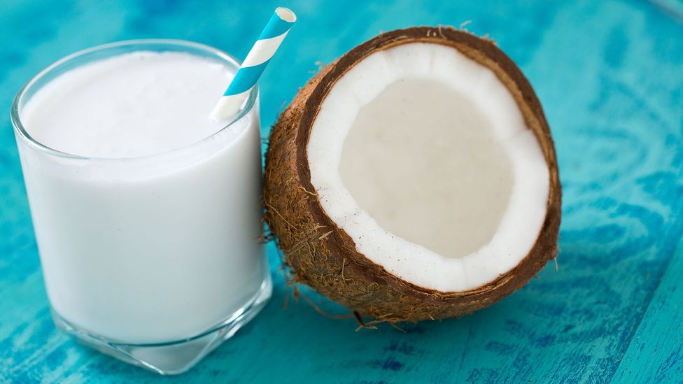 Coconut has emerged as one alternative as some people move away from cow milk (Credit: Getty Images)