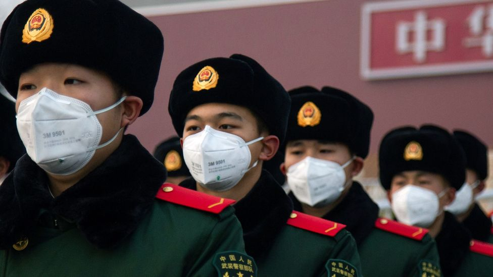 The Chinese have closed many landmarks to the public including Tiananmen Square in Beijing and the Forbidden City in the fight to contain the coronavirus (Credit: Getty Images)