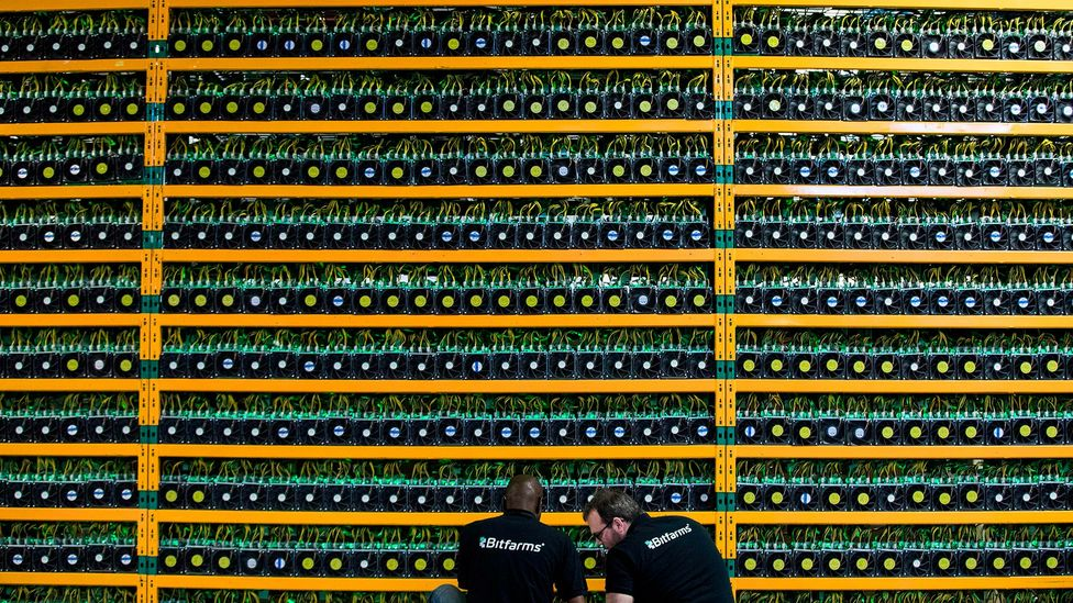 This new type of data-tracking technology uses blockchain, the de-centralising record-keeping system behind the cryptocurrency bitcoin (Credit: Getty Images)