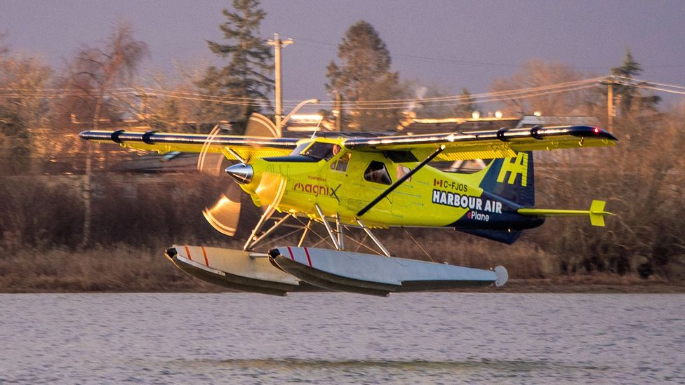 Harbour Air has plans to electrify its entire fleet of small passenger seaplanes, putting it ahead of other airlines (Credit: Diane Selkirk)