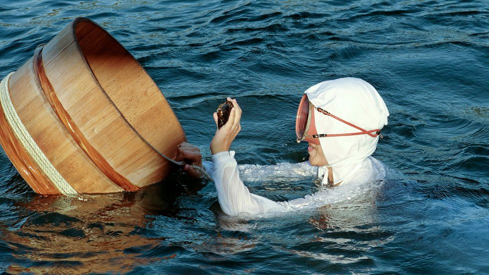 The 'sea women' of Japan (Credit: brytta/Getty Images)