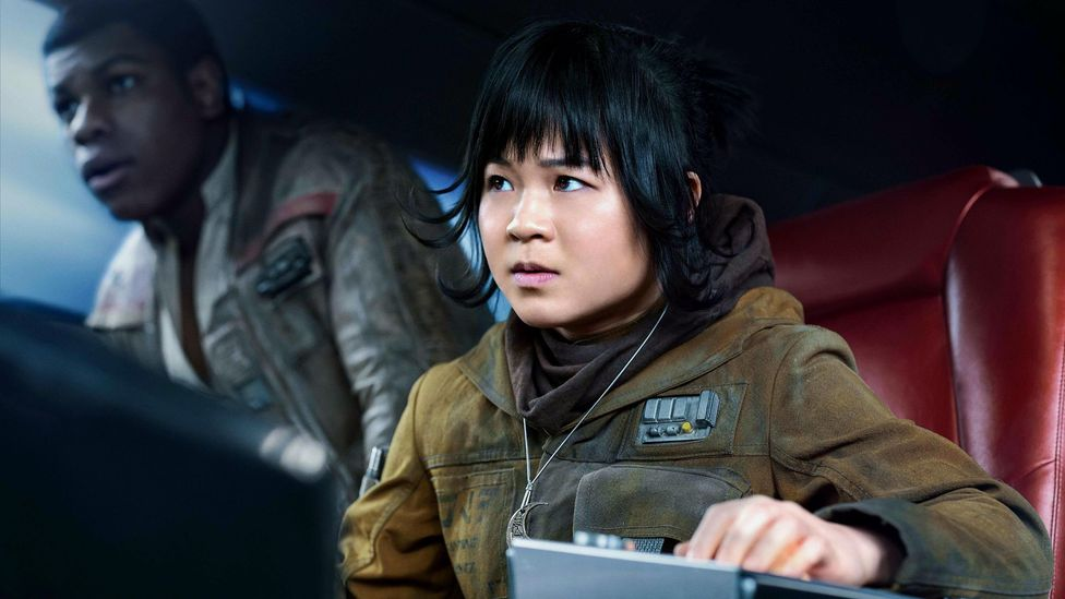 A vocal minority of Star Wars fans despised The Last Jedi so much they clogged the internet for months with abuse – especially directed at actress Kelly Marie Tran (Credit: Alamy)
