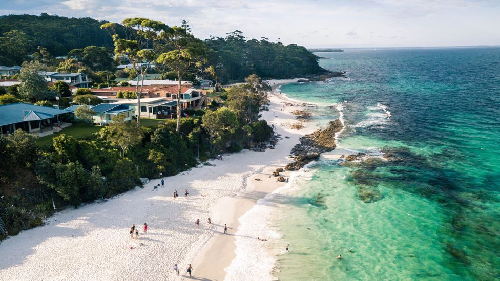 Jervis Bay on New South Wales' South Coast is a summer playground for Sydney and Canberra residents as well as international tourists (Credit: Roman Skorzus/Getty Images)