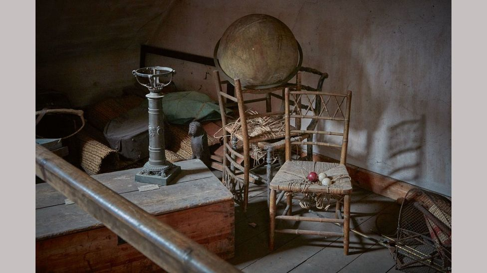 The attic of Spetchley Park turned out to be a treasure trove, full of surprising art, furniture and objects