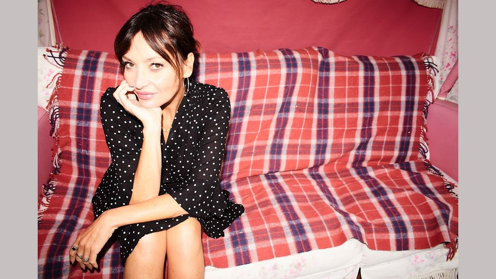 Pearl Lowe is a British designer and stylist, and author of the book Faded Glamour