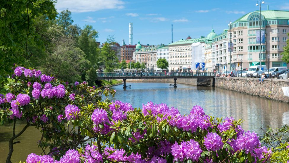 Gothenburg has been revitalised in recent years, particularly along its riverfront (Credit: Martin Wahlborg/Getty Images)