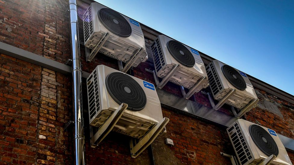 Aircon is a major sustainability variable, as it usually consumes more energy than heating (Credit: Getty Images)