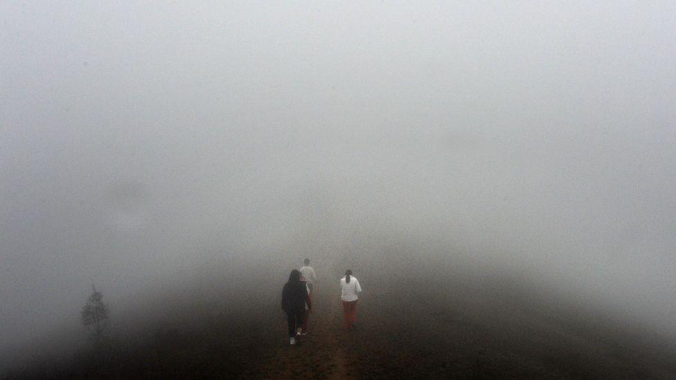 Lima is a very dry city, but it is often bathed in thick fog due to its local geography (Credit: Getty Images)