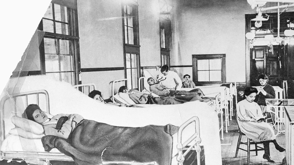 Mary Mallon was nicknamed Typhoid Mary after she was found to have caused infections in a number of wealthy families in New York (Credit: Getty Images)
