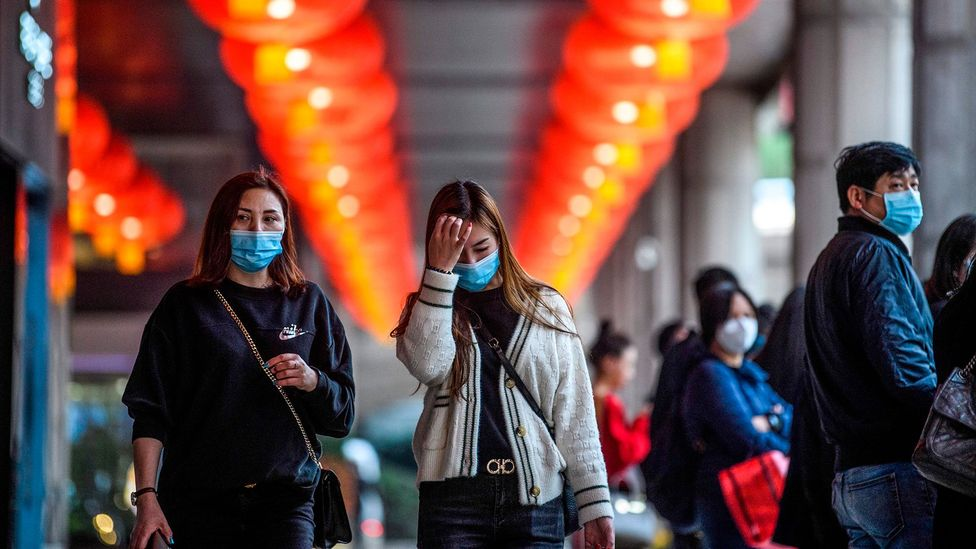 So called super-spreaders are already thought to have played a major role in the new coronavirus outbreak's movement around the world (Credit: Getty Images)