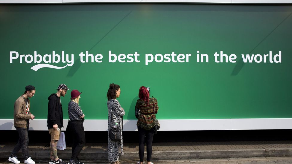 Danish beer brand Carlsberg has used ambiguous marketing techniques, which research suggests can be more persuasive than overt advertising (Credit: Getty Images)