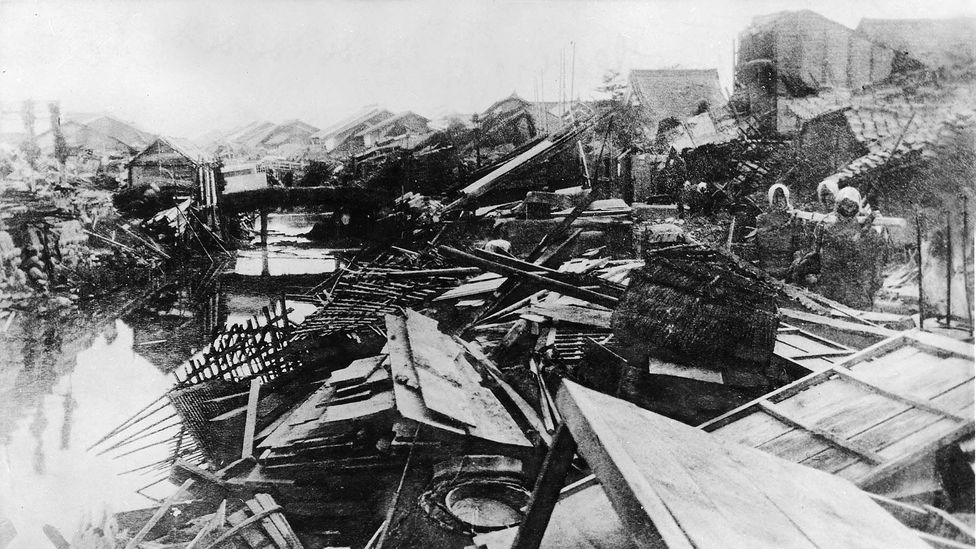 Entire districts were completely destroyed during the Great Kanto Earthquake (credit: Ullstein Bild/Getty Images)