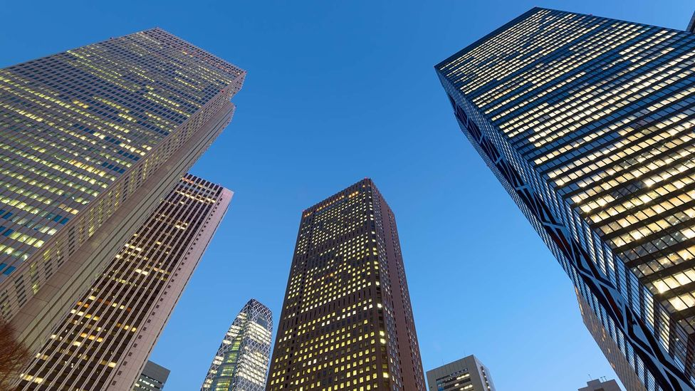 Tokyo has over 500 high-rise buildings (credit: Roland Nagy/Alamy)