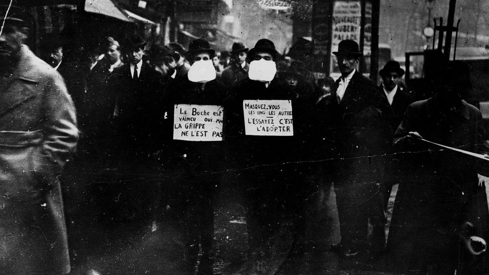 Masks were in high demand during the Spanish Flu outbreak as well (Credit: Getty Images)