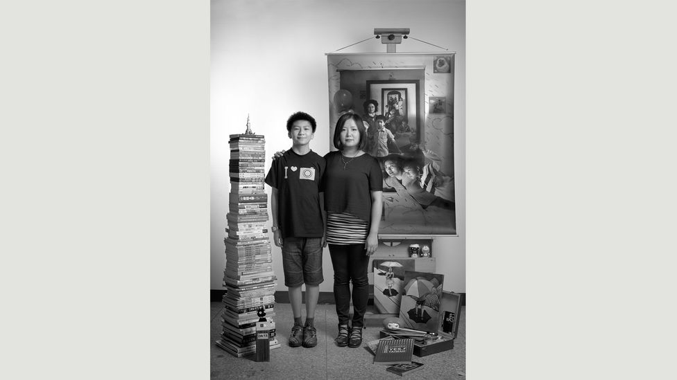At the same height, 2014, from The Mother as Creator, 2001 to present (Credit: Annie Wang)