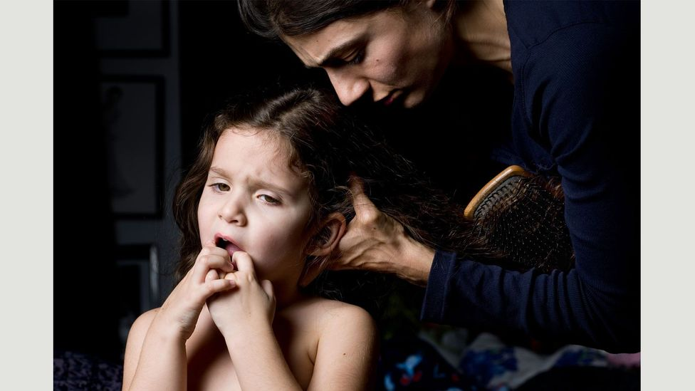 Brushing Hair, 2010 from Mother, 2013 (Credit: Elinor Carucci)