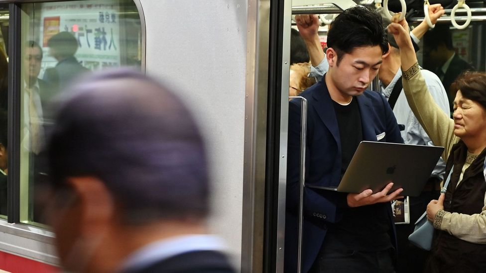 Certain commutes are more suited for working than others, depending on the mode of transport, crowdedness and wi-fi capability (Credit: Getty Images)