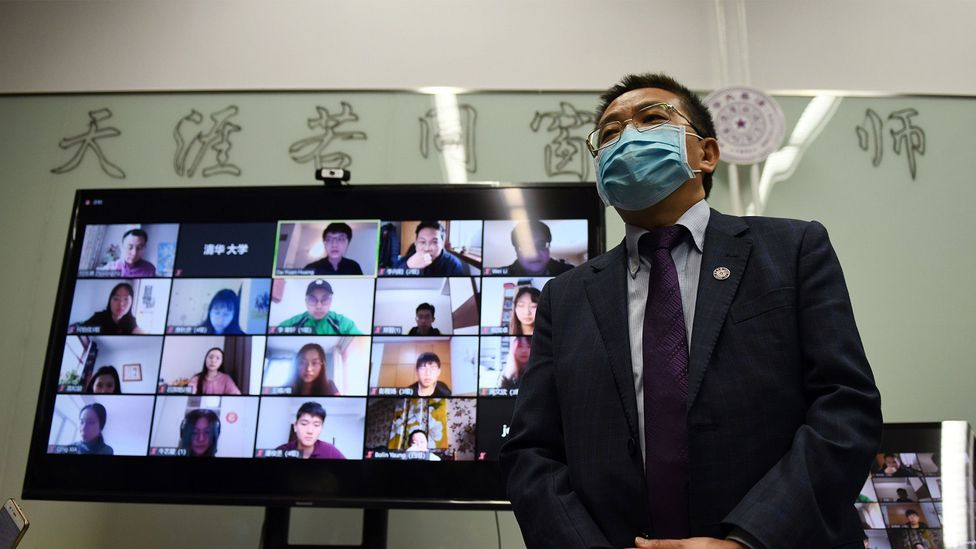 Universities have taken measures to limit exposure by switching to online classes conducted by video conference (Credit: Getty Images)