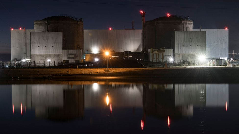 Large traditional nuclear power plants are increasingly seen as an expensive way to produce power as the cost of renewables falls (Credit: Getty Images)