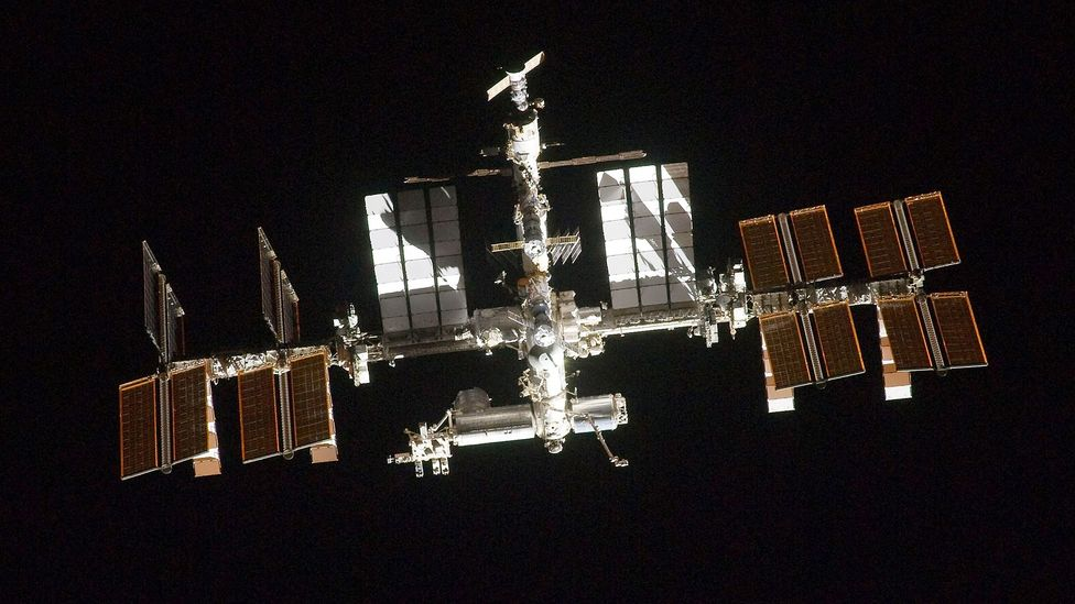 The ISS is probably the most expensive structure built by humnaity - but it needs to be hoovered just like your home (Credit: Nasa/Getty Images)