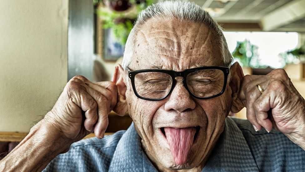 Our sense of humour improves as we get older, while we also grow more conscientious and agreeable (Credit: Getty Images)