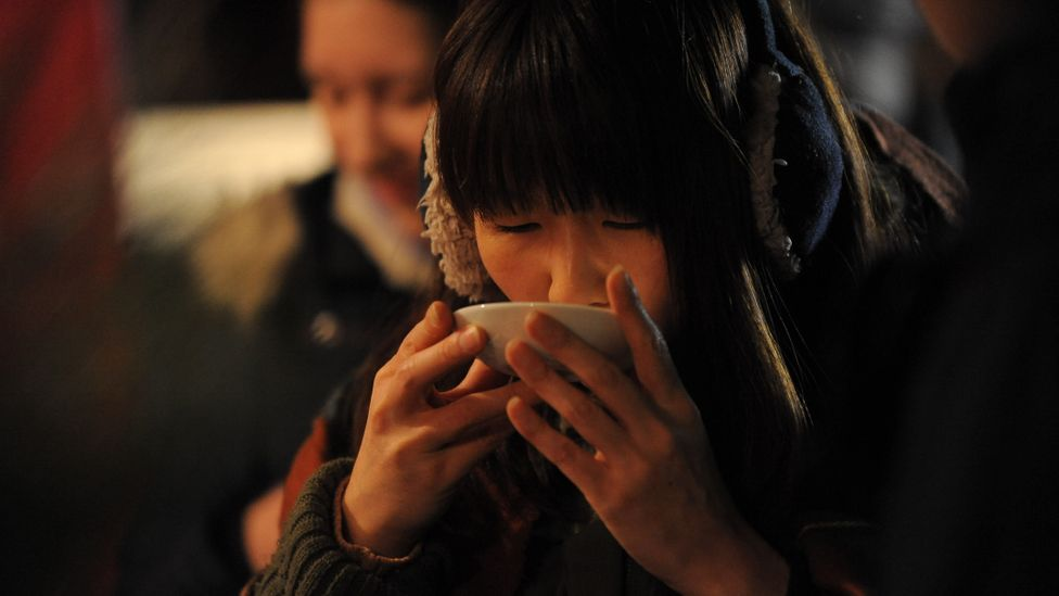 Amazake is thought to have warming qualities so is often consumed during winter (Credit: Anadolu Agency/Getty Images)
