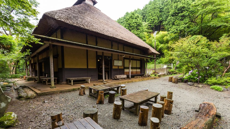 Amazake-chaya is a centuries-old tea house in Hakone that specialises in amazake and mochi (rice cakes) (Credit: John S Lander/Getty Images)