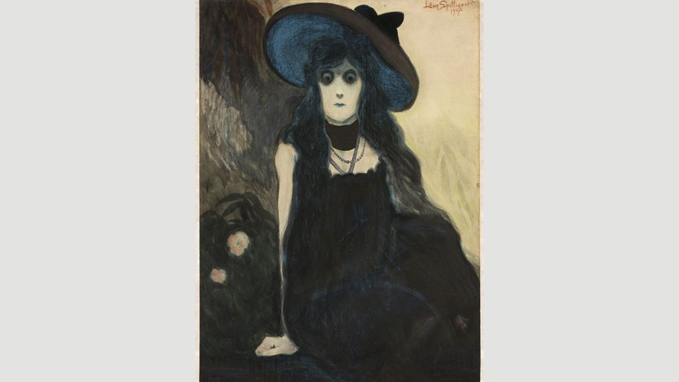 In his paintings of women such as The Absinthe Drinker (1907) Spilliaert portrayed solitude and an underlying independence and defiance