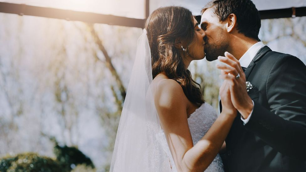 The institution of marriage only became widespread after the concept of land ownership arose, raising questions about inheritance (Credit: Getty Images)
