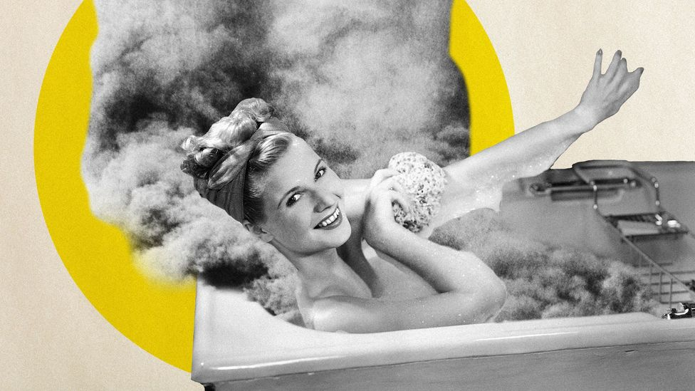 A daily bath can release a surprising amount of carbon dioxide into the atmosphere over the course of a year while showers release less (Credit: Getty Images/Javier Hirschfeld)