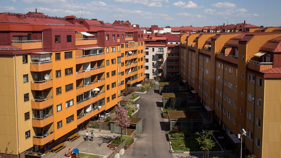 More than half of all Swedish homes are made up of one resident, the highest proportion in Europe (Credit: Alamy)