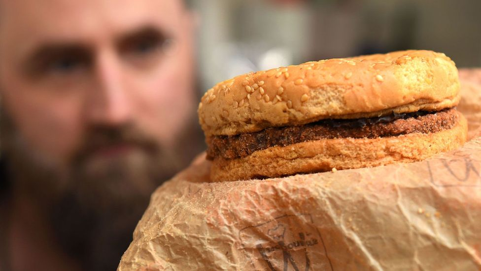 In 2019, an Australian man showed off a Big Mac he claims to have bought in 1995 (Credit: Getty Images)