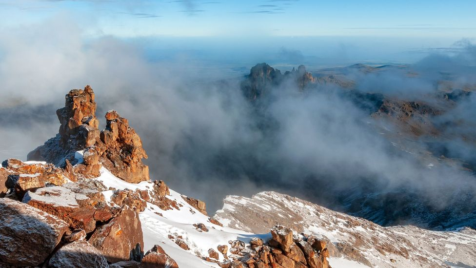 At 5,199m, Mt Kenya is a feat to climb (Credit: Marek Stefunko/Getty Images)