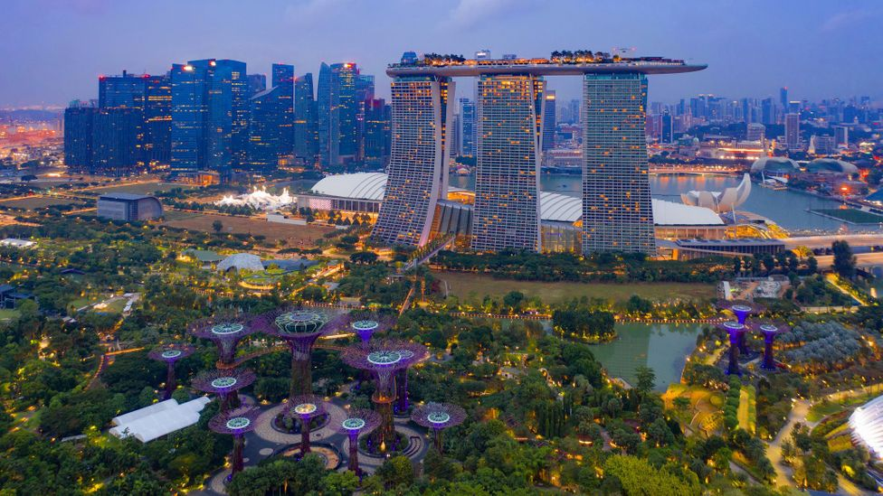 Singapore managed to keep case numbers relatively low and has had one of the flattest curves in the pandemic (Credit: Tampatra/Getty Images)