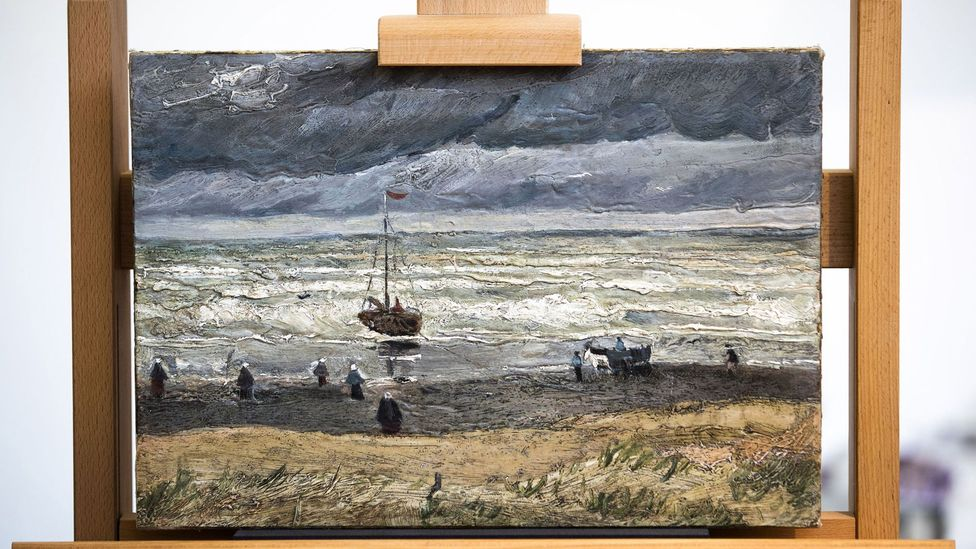 View of the Sea at Scheveningen (1882) was one two Van Gogh paintings stolen from Amsterdam's Van Gogh museum (and now recovered) that eluded Brand
