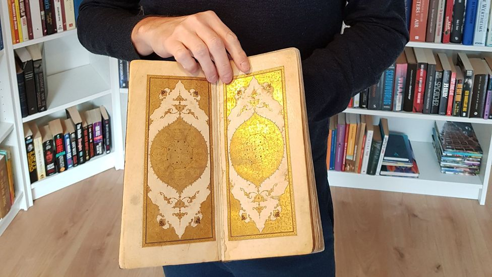 Brand's recovery of 15th-Century manuscript Divan of Hafez saw him in competition with Iranian secret agents