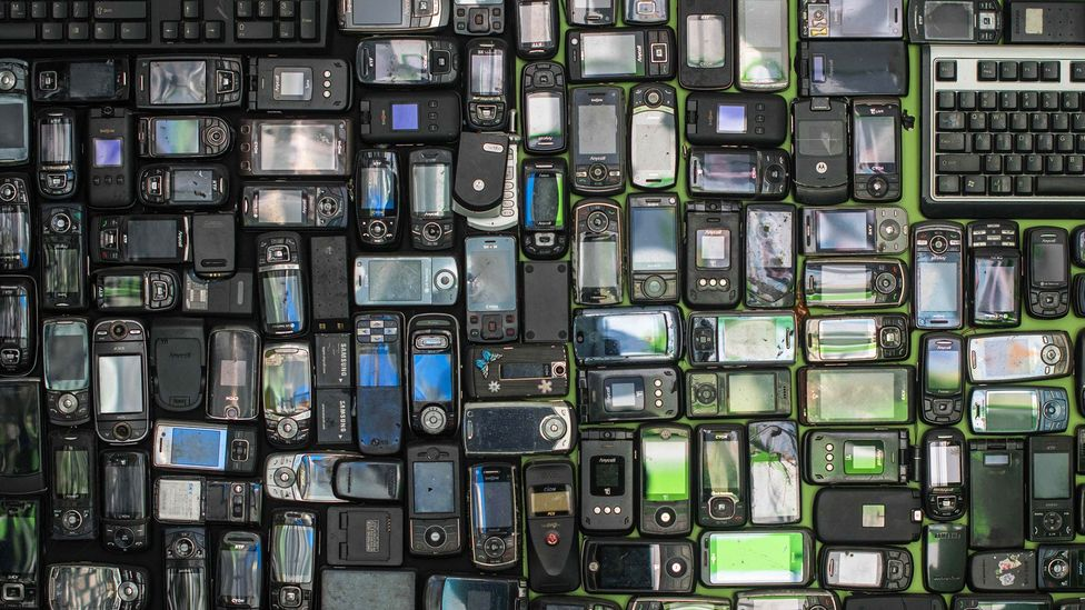 It is tantalising to think we could use the materials our old electronic devices to make new ones without the need to mine (Credit: Getty Images)