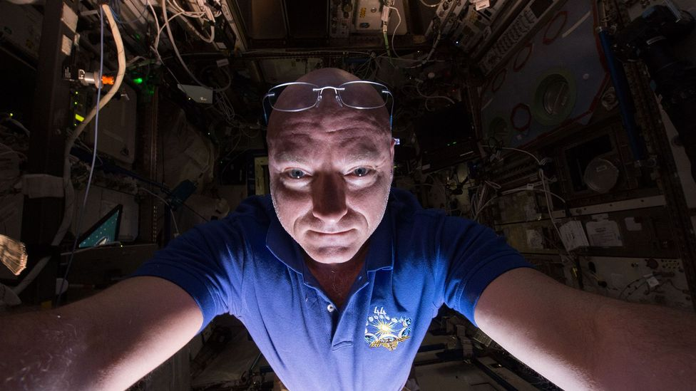 Former Nasa astronaut Scott Kelly has said he found it vital to make time for fun, trivial activities (Credit: Nasa/Getty)