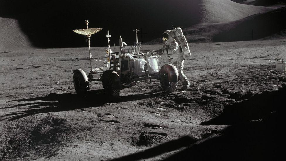 Apollo astronaut on Moon (Credit: Nasa/Getty Images)