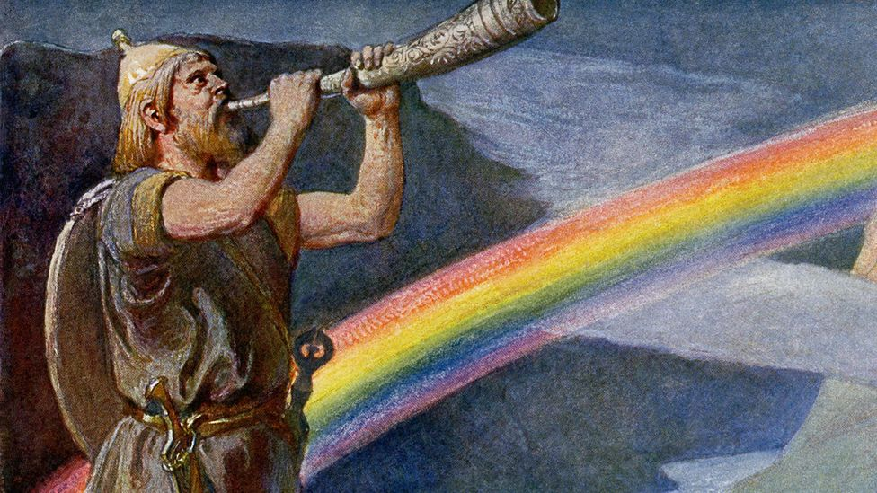 Some scholars have suggested that the rainbow bridge of Norse mythology could have originally represented the Milky Way (Credit: Alamy)