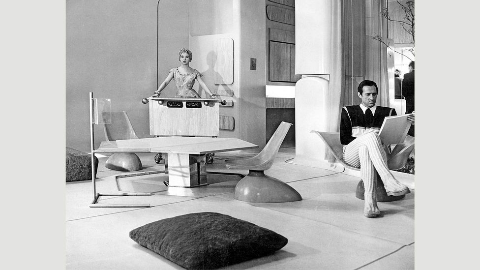 Alison and Peter Smithson House of the Future, 1956, was featured in the Ideal Home Exhibition