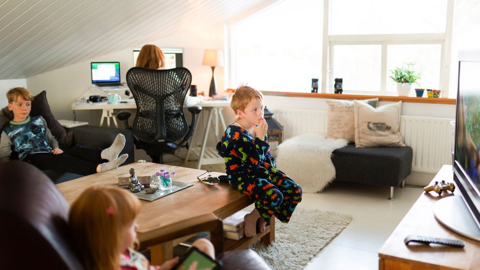 Many of you suggested ways to keep your children busy, including chores, games and taking shifts with your spouse (Credit: Getty Images)