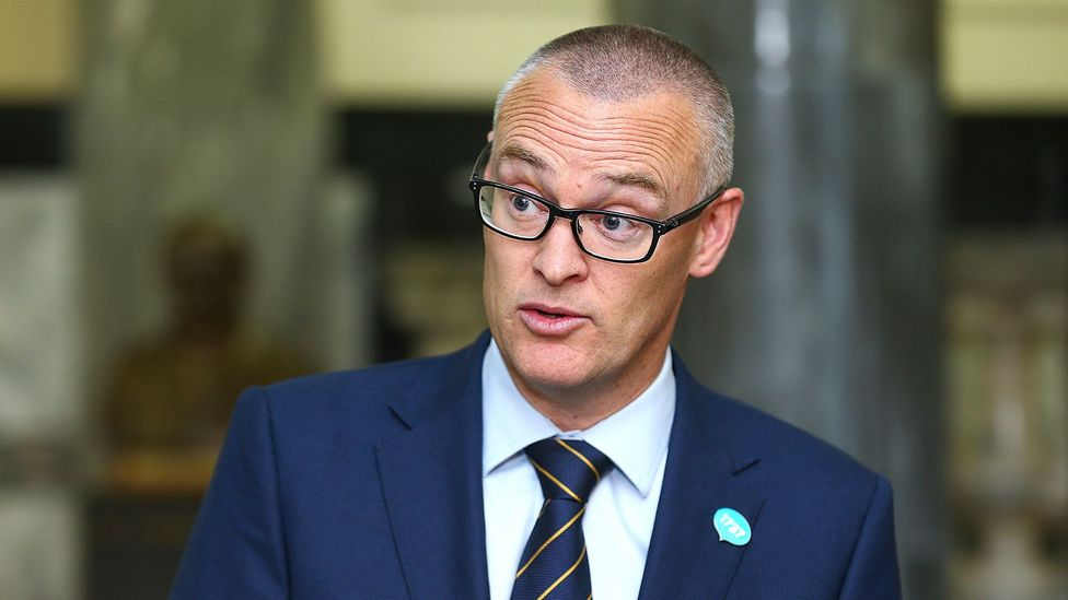 """New Zealand's health minister David Clark called himself an """"idiot"""" after driving his family to the beach during lockdown. The move earned him a demotion (Credit: Getty Images)"""