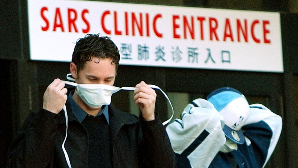 International air travel very quickly delivered Sars to countries thousands of miles from the initial outbreak (Credit: Getty Images)