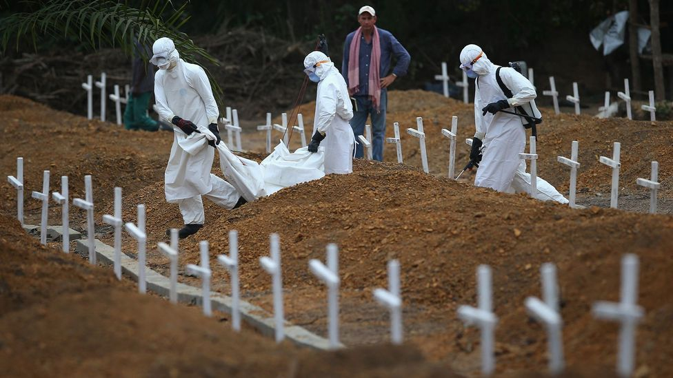 The Ebola outbreak in West Africa showed health agencies had to be sensitive to local burial practices (Credit: Getty Images)